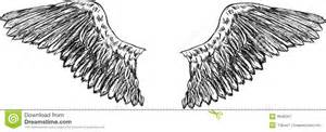 eagle wings vector royalty free stock photography image