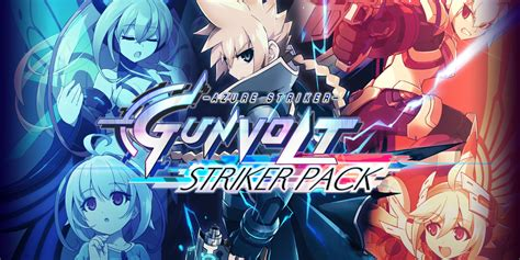 Kaset 3ds Azure Striker Gunvolt Striker Pack azure striker gunvolt striker pack jeux 224 t 233 l 233 charger sur nintendo switch jeux nintendo