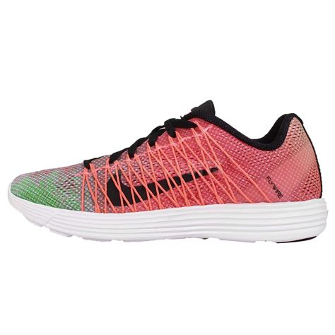 nike flywire running shoes wmns nike lunaracer 3 pink green black flywire womens