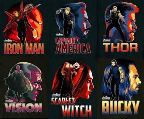 Poster Karakter Thor 2 40x60cm marvel rilis poster karakter karakter infinity war provoke