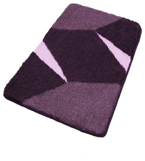 Purple Bathroom Rugs Purple Non Slip Contemporary Bathroom Rugs Large Contemporary Bath Mats Other Metro By