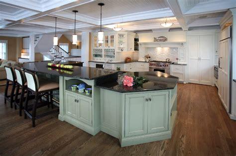 Beach House Kitchens Beach Style Kitchen philadelphia by Asher Associates Architects