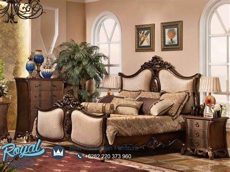 set kamar tidur mewah jati bedroom set terbaru royal furniture jepara