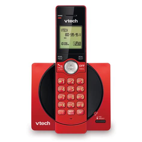 call house phone cordless phone with caller id call waiting cs6919 16 vtech 174 cordless phones