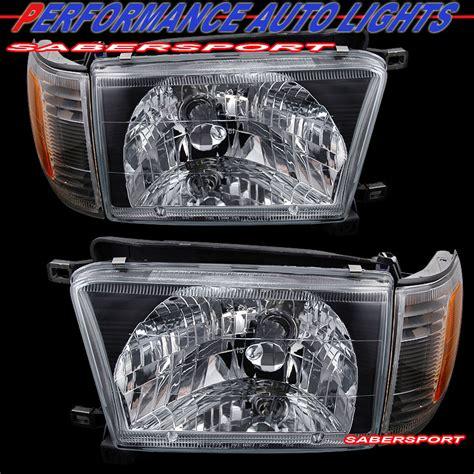 2002 Toyota 4runner Headlight Bulb Sell 1996 1998 Toyota 4runner Jdm Black Headlights
