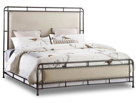 upholstered bed hooker furniture bedroom studio 7h slumbr king metal