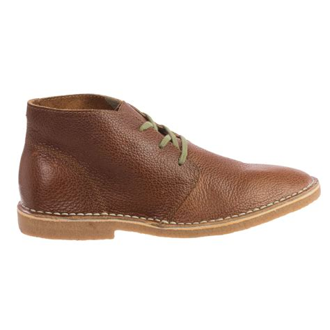 chukka boots leather seavees 12 67 leather chukka boots for save 77