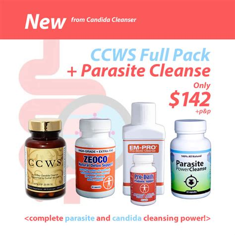 Candida Detox Center by Complete Candida Parasite Cleanse Candida Cure Center