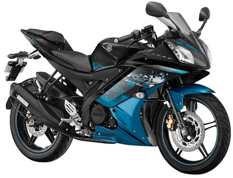 r15 new version yamaha yzf r15 version 2 0 streaking cyan special edition