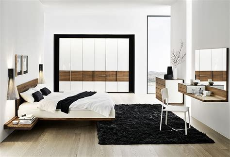 modern minimalist solid walnut bed furniture design 1 jpg