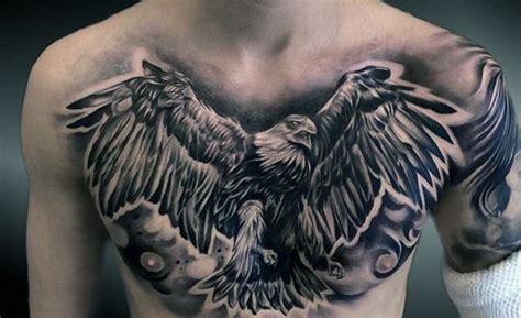 eagle tattoo breast 75 eagle tattoos for men a soaring flight of designs