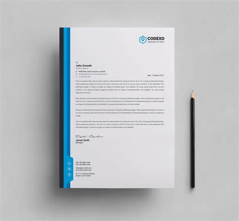 15 free vector psd company letter head design template free