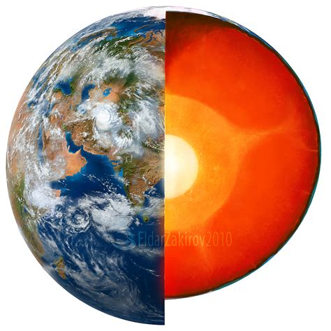 hottest layer the inner core the most dense and hottest layer of the