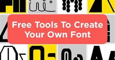 design your own font online free digital marketing tips news