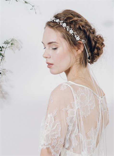 Vintage Wedding Hair Sheffield by Enchanting Ethereal Bridal Headpieces By Debbie Carlisle