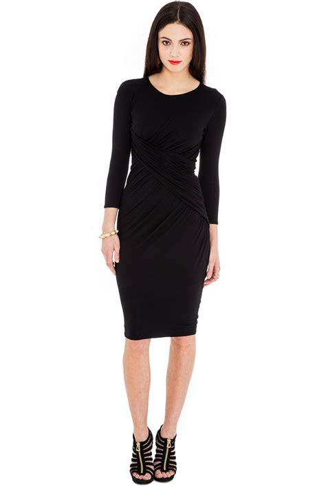 Dres Black classic black dress fashion