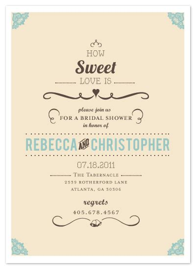 design kartu undangan sweet 17 shower invitations how sweet it is at minted com