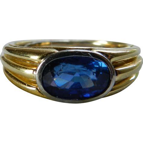 White Sapphire Ceylon 3 sapphire ring genuine ceylon blue 1 3 carat sapphire ring