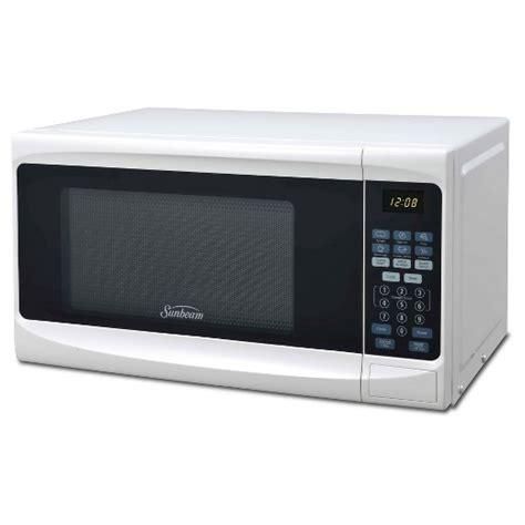 sunbeam 174 0 7cu ft 700 watt digital microwave oven white sgs10701 target