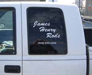 Window Decals Yakima by Yakima Signs And Lettering