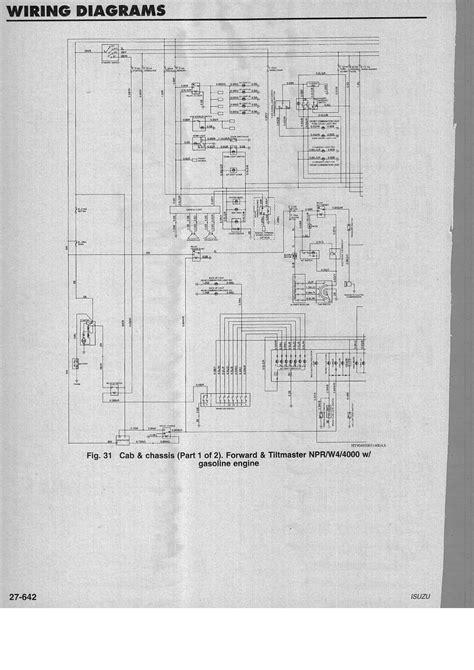 1996 isuzu npr wiring diagram wiring diagram with