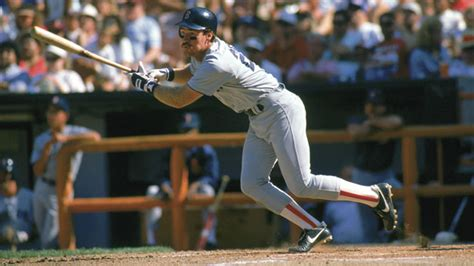 wade boggs swing red sox to retire wade boggs no 26 171 cbs boston