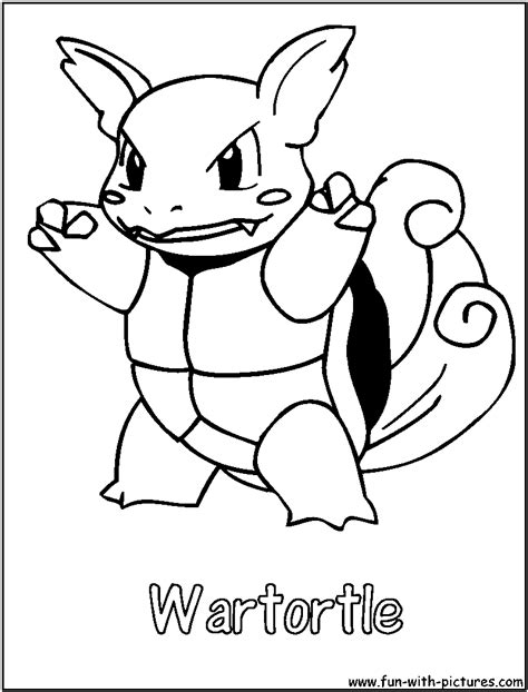 pokemon coloring pages wartortle free coloring pages of pokemon squirtle