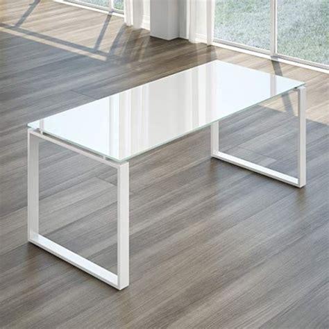 scrivanie in cristallo per ufficio scrivania swing 7020 in cristallo 180 cm linekit