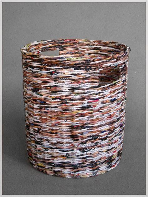 upcycle magazines upcycled magazines basket by blureco crafts