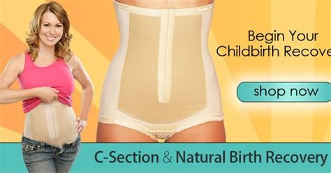 postpartum girdle belly wrap compression garment c recovery exercise for c