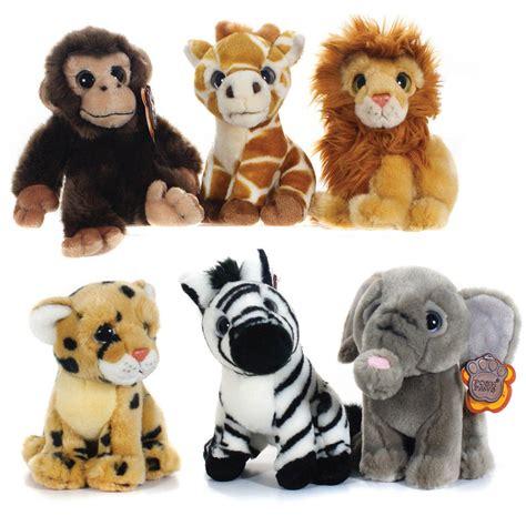 posh paws 7 quot africa wildlife soft plush cuddly toy lion