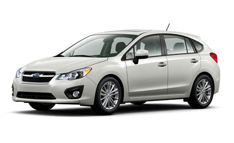 subaru hatchback car and driver