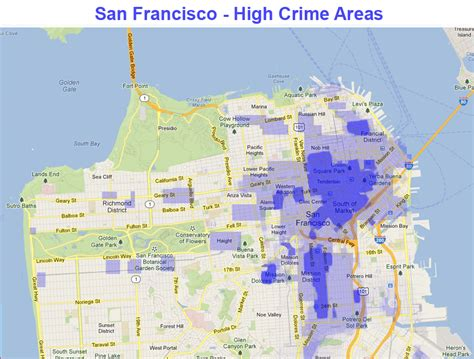 san francisco map crime the big social picture is your san francisco home safe