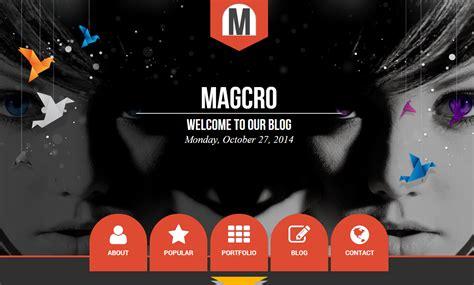 magcro parallax blogger template blogger templates gallery