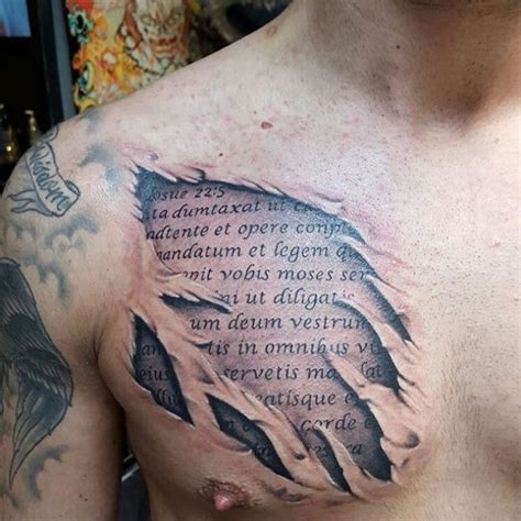 Chest Tattoos For Men Bible Quotes Www Pixshark Com Nobel Bible Verses Tattoos