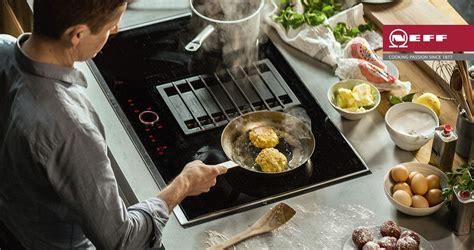 introducing   neff venting hob kitchen ergonomics
