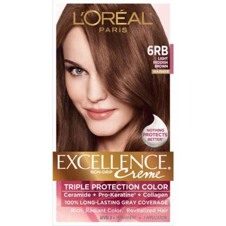 l oreal excellence hair color l oreal excellence non drip creme protection