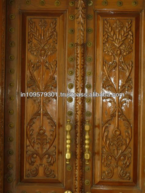 Wooden Door Design For Home by Wood Carving Designs For Main Door India Teak Wood Door