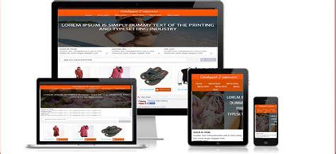 template toko online responsif 6 template toko online responsive gratis dan premium