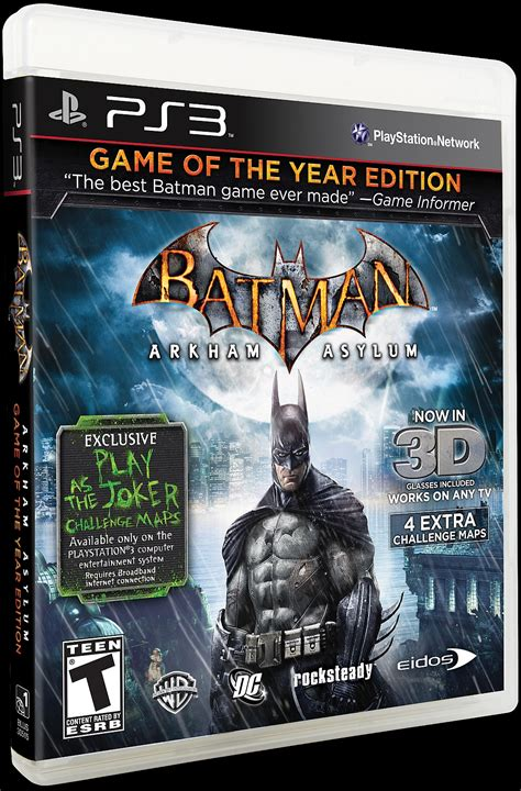 Kaset Ps4 Batman Arkham Of The Year Edition batman arkham asylum of the year edition ps3 s 70
