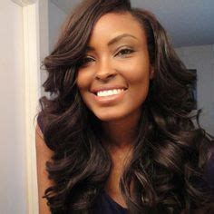 how to get loose waves in african american hair hair there and everywhere on pinterest headpieces bow