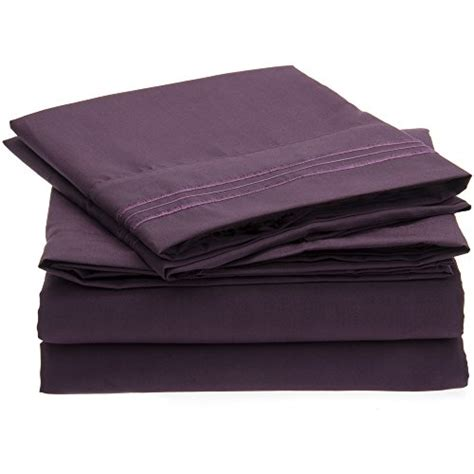 microfiber bed sheets harmony linens bed sheet set 1800 double brushed