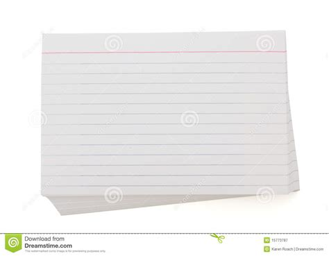 printable index cards office max stack of index cards royalty free stock photography