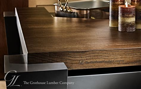 How Thick Are Countertops by What Is The Most Common Thickness For Wood Butcherblock