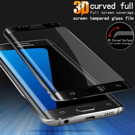 Tempered Glass Samsung Galaxy A7 2017 Curved Edge 9h gxe 3d curved screen cover tempered glass for samsung galaxy a3 a5 a7 2017 s7 edge s6 plus