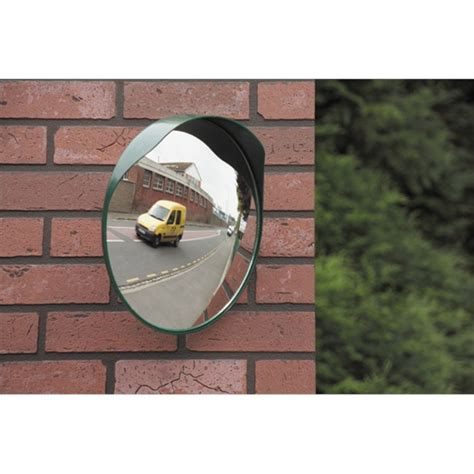 miroir sortie parking miroir convexe sortie garage ou parking 40 cm mottez b314p40 norauto fr