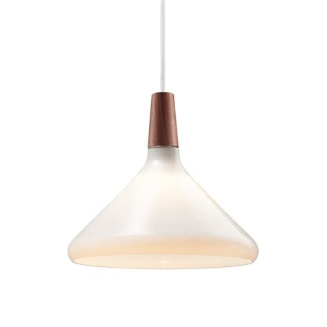 Dftp Nordlux Float 27 Ceiling Pendant Light White Glass Pendant Light White