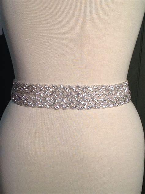 all around beading bridal belt wedding belt bridal sash