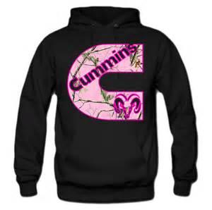 Dodge Cummins Hoodies Cummins Pink Camouflage Print Hoodie From Teee Shop Hoodies