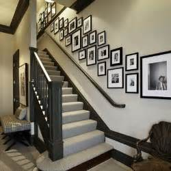 Decorating Ideas For Staircase Walls Staircase Wall Decorating Ideas Transitional Staircase